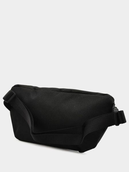 С ремешком черная поясная сумка на молнии Timberland