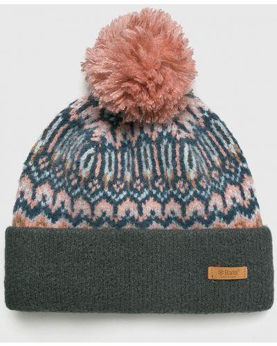 Зимняя шапка с отворотом с помпоном Barts