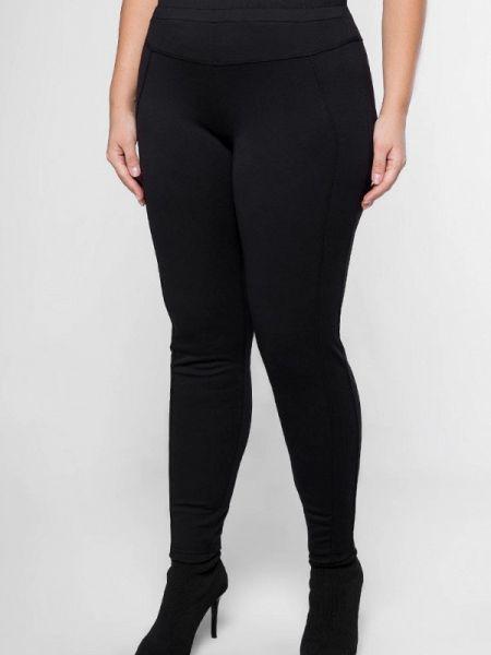 Черные брюки узкого кроя Лимонти