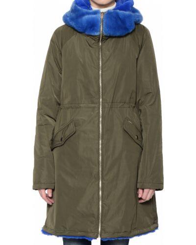 Куртка осенняя зеленая Annarita N