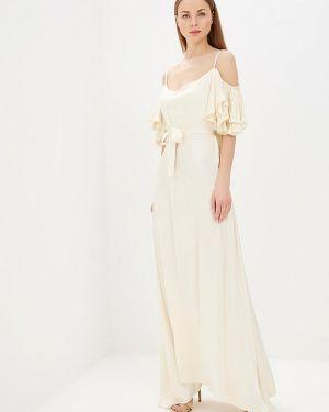 Платье бежевое Mirasezar