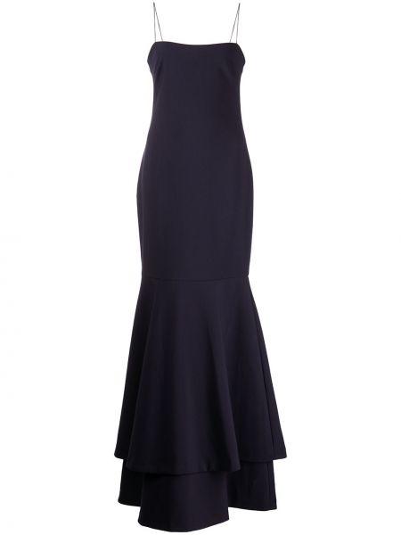 Платье макси - синее Likely