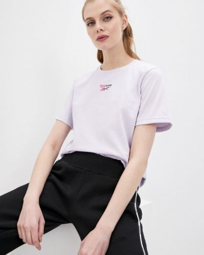Фиолетовая футболка Reebok Classic