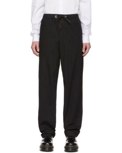 Bawełna spodni czarny spodnie z kieszeniami Mcq Alexander Mcqueen