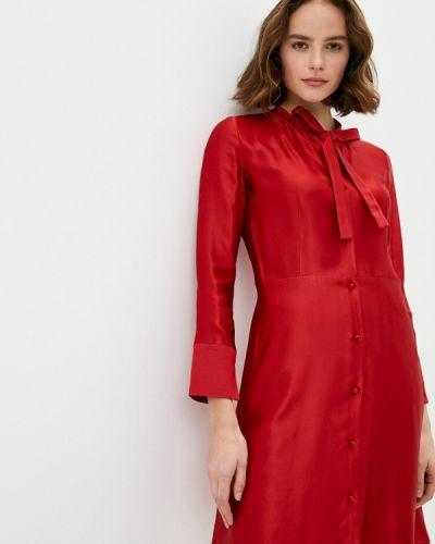 Красное платье Hugo