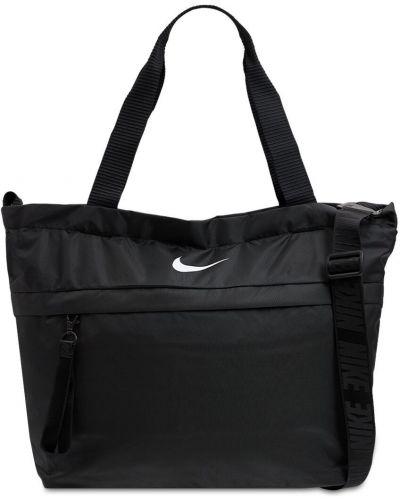Черная сумка на молнии Nike