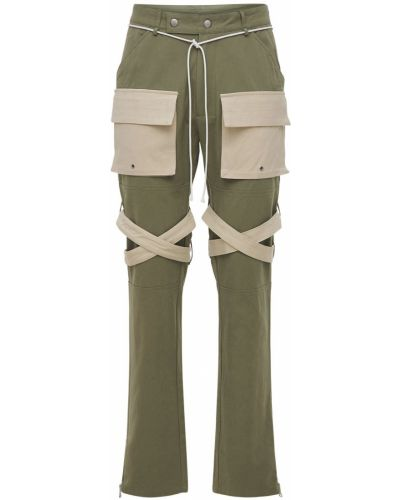 Zielone spodnie Lifted Anchors