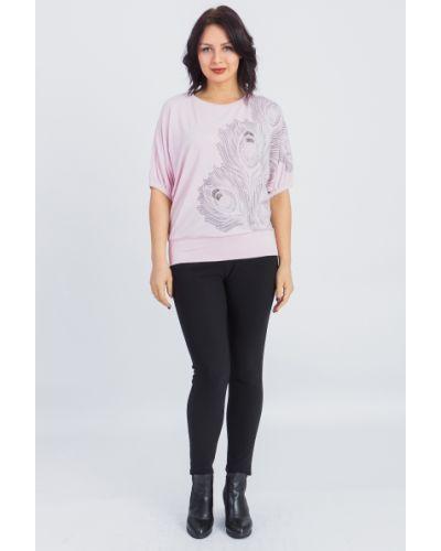 Блузка розовая летучая мышь Lacywear