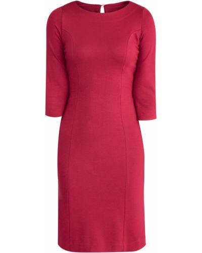 Платье с поясом футляр из вискозы Eleventy