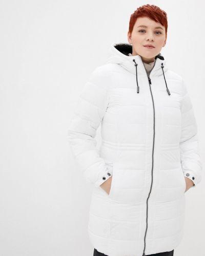 Утепленная белая куртка Superdry