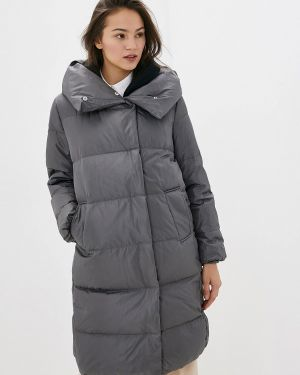 Зимняя куртка осенняя серая Befree