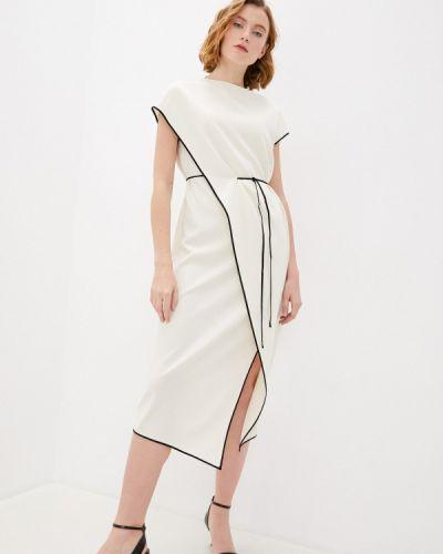 Повседневное белое платье Theory
