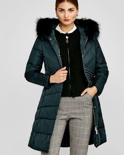 Зимняя куртка осенняя зеленая Pedro Del Hierro