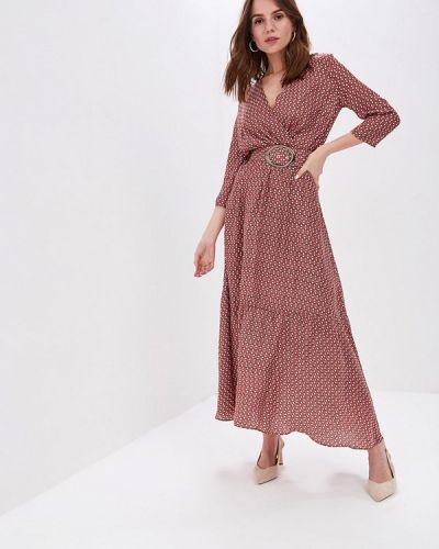 Платье розовое прямое Pepen
