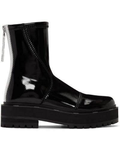 Buty na obcasie na platformie na pięcie Fendi