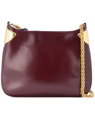 Кожаная сумка на цепочке на плечо Gucci Vintage