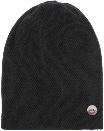 Вязаная шапка черная кашемировая Inverni