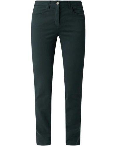 Zielone spodnie rurki Luisa Cerano