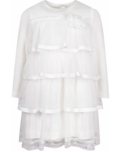 Нарядное платье из вискозы Miss Blumarine