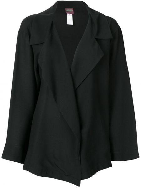 Нейлоновая черная куртка Kenzo Pre-owned