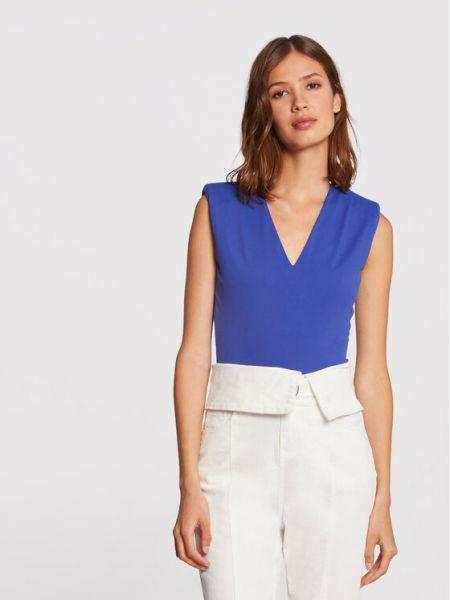 Bluzka body - niebieski Morgan