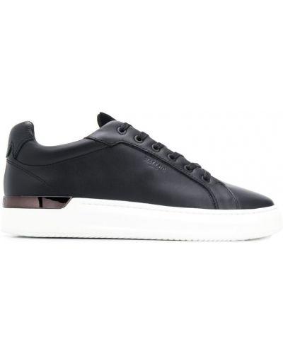 Черные кроссовки на платформе Mallet Footwear