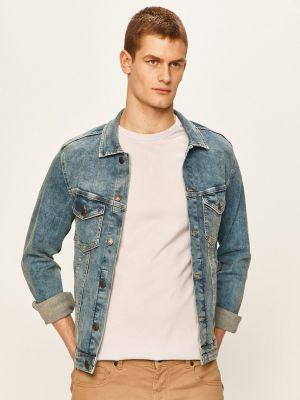 Хлопковая джинсовая куртка с воротником с карманами Jack & Jones