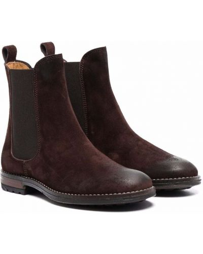 Brązowe ankle boots Gallucci Kids