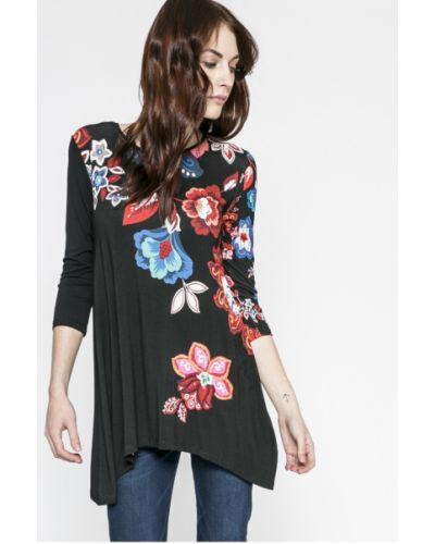 Блузка с рукавом 3/4 асимметричная Desigual