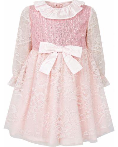 Нарядное платье - розовое Aletta