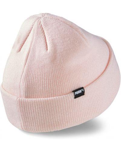 Трикотажная шапка бини - розовая Puma