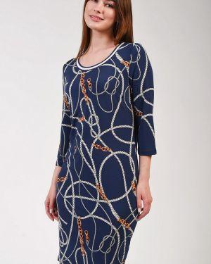 Платье из полиэстера - синее Ouí