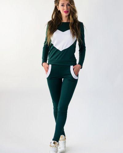 Спортивный костюм зеленый Подіум