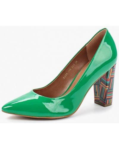 Зеленые туфли Indiana