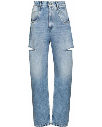Прямые джинсы классические - синие Maison Margiela