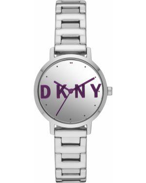 Zegarek srebrny Dkny