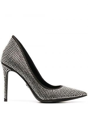 Черные туфли-лодочки на каблуке на высоком каблуке Michael Michael Kors