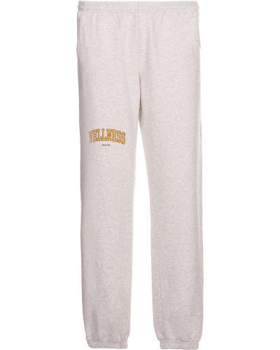 Szare spodnie dresowe Sporty And Rich
