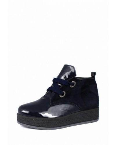 Кожаные ботинки осенние замшевые Blizzarini