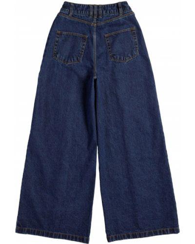 Синие джинсовые брюки Adidas X Ivy Park