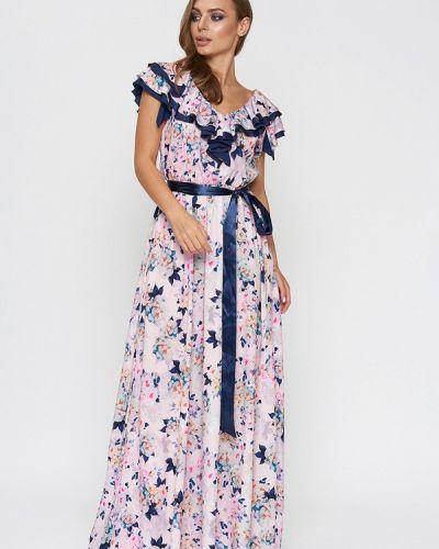 Платье весеннее розовое Sellin