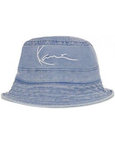 Niebieski kapelusz Karl Kani