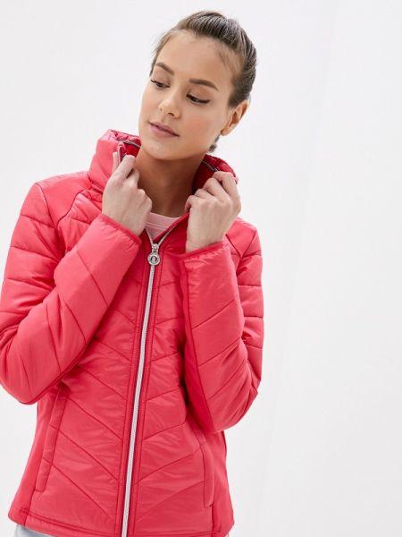 Утепленная куртка весенняя розовая Luhta