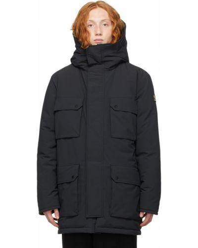 Черная куртка утепленная Kanuk