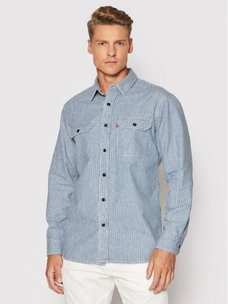 Koszula jeansowa - niebieska Levi's