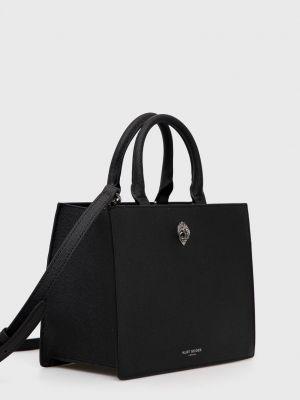Кожаная сумка шоппер Kurt Geiger London