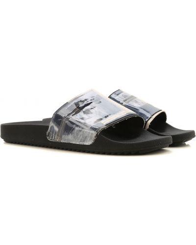 Czarne sandały Drkshdw