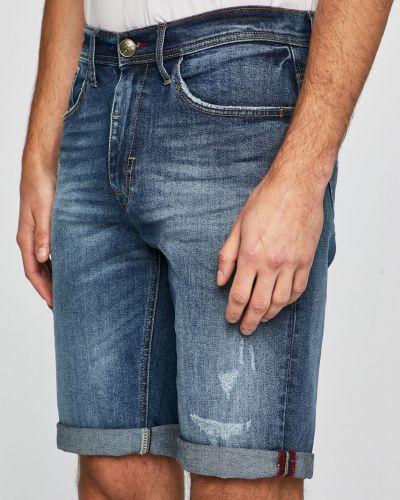 Dżinsowa szorty długo wełniany Blend