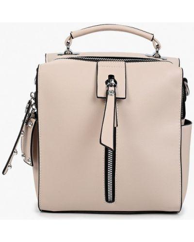 Бежевый городской рюкзак Pinkkarrot