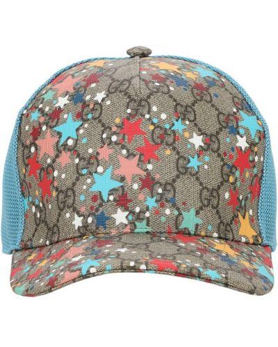 Baseball z paskiem beżowy kapelusz Gucci